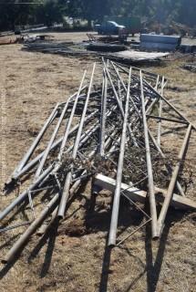 Metal Frame For Building