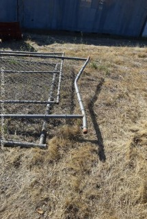 Lot of Chain Link Fence Panels/Gates