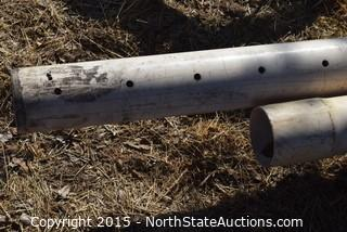 Lot of Irrigation Pipes