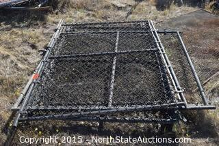 Lot of Chain Link Fence Gates