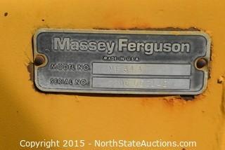Massey Ferguson Backhoe w 4in1 Loader Bucket