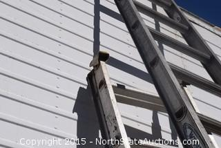 Lot of Extention Ladders