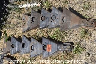 Lot of Trailer Hitch Receivers