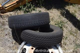 Lot of Tires and Rims