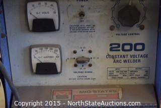 Mid-States 200 Constant Voltage ARC Welder