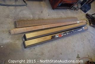Lot of Louvered Doors and Blinds