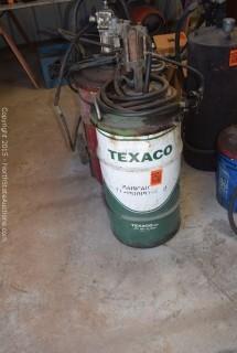 Vintage Texaco  Pressurized Grease Buckets