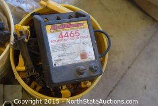 Lot of Electric Fence Items and Controller
