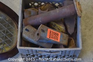 Lot of Backhoe Teeth & Loader Pins