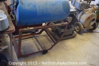 Tank and Cart