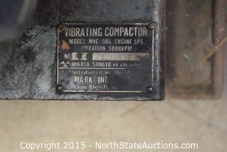 Vibrating Compactor