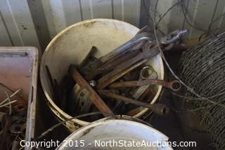 Lot of Misc (Barbed Wire)