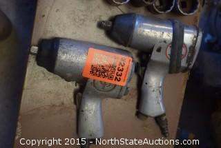 Lot of Air Tools and Sockets