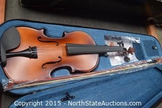Allyes Solid Wood Violin