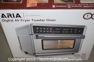 Aria Digital Air Fryer Toaster Oven