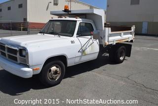1991 Dodge D350 Dump Truck (#5)