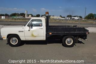 1987 Dodge Ram D250 Flat Bed (#7)