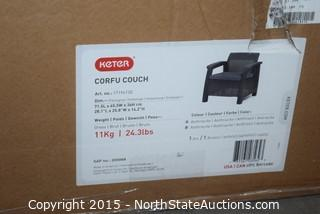 Keter Corfu Couch