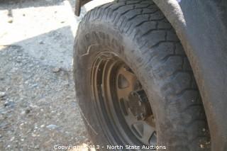 Striker Black Jeep Trailer
