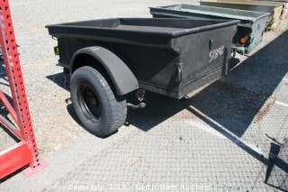 Striker Black Jeep Trailer
