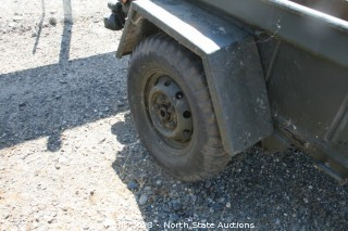 Strickr Army Jeep Trailer